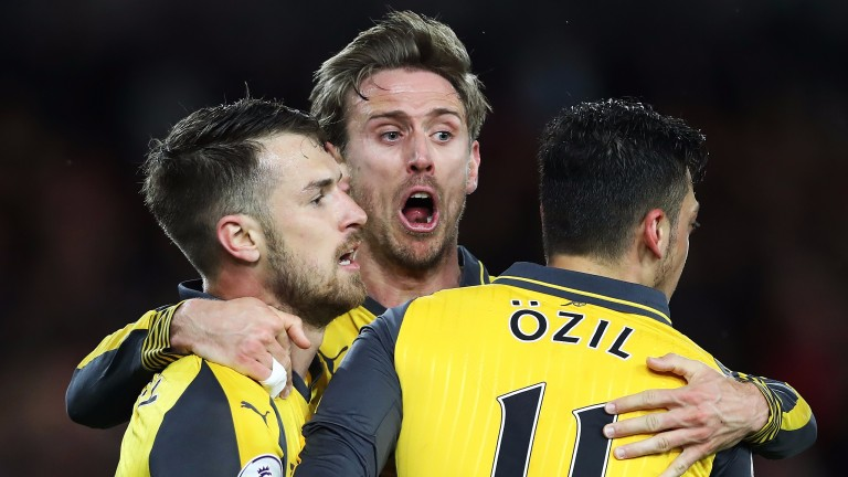Arsenal ended the season with five straight wins