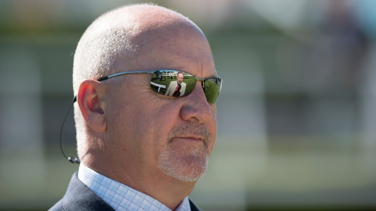 US trainer Kenny McPeek drops in on Goodwood