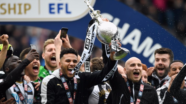 Newcastle won the Sky Bet Championship on the final day of the season