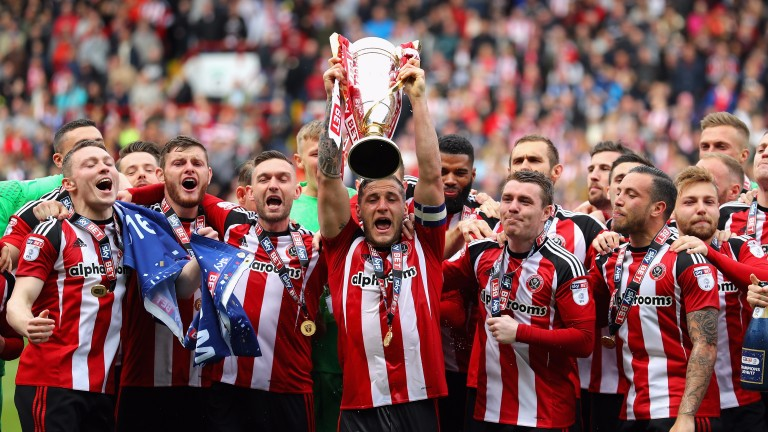 Sheffield United were easy winners of League One