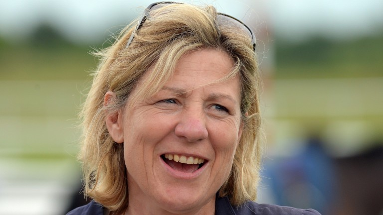 Eve Johnson Houghton: Britain's leading female Flat trainer for the second year running