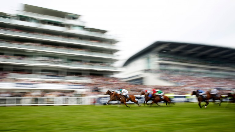 Epsom racecourse stages the Derby on Saturday