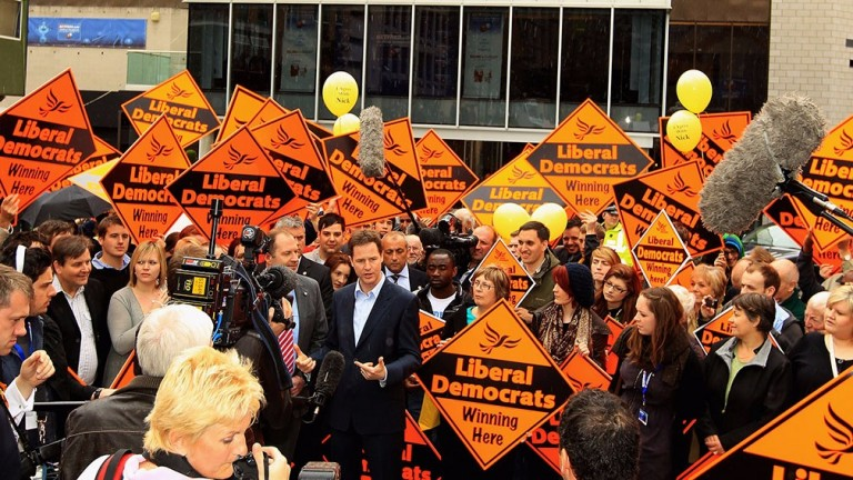 The Liberal Democrats have a long way to go to match results they enjoyed under Nick Clegg