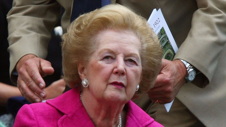 Margaret Thatcher gained more than 100 seats in 1983