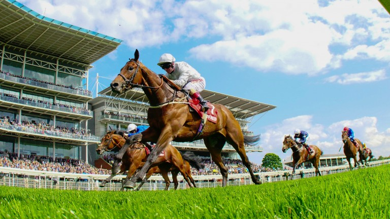 Permian strikes in the Dante. He now bids to follow in the footsteps of previous York winners and land the Derby