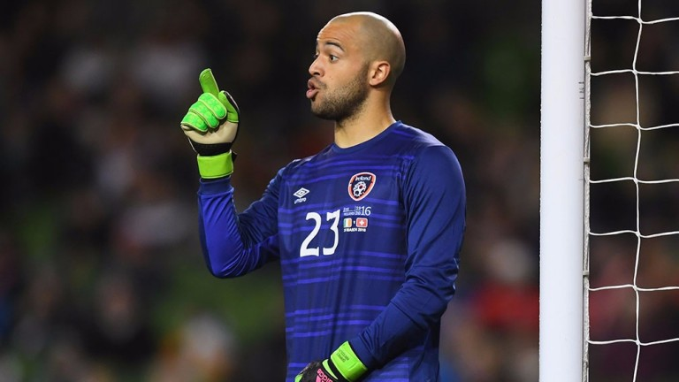Darren Randolph is expected to be in goal for Ireland against Mexico