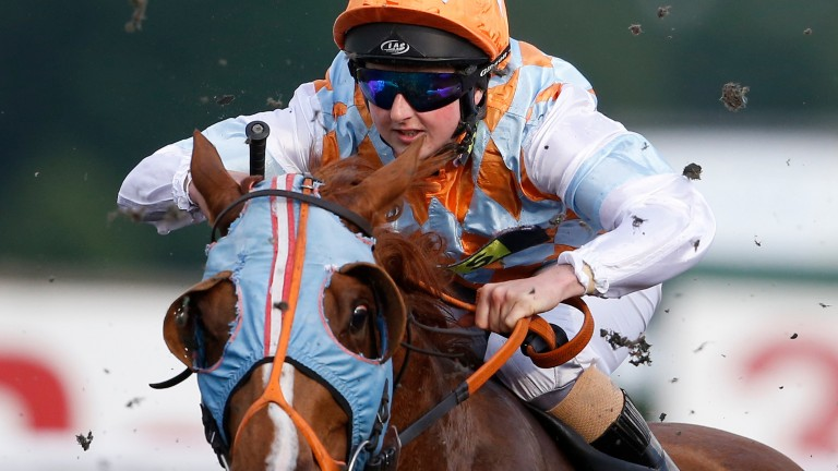 Gina Mangan: will not get the chance to ride in Derby
