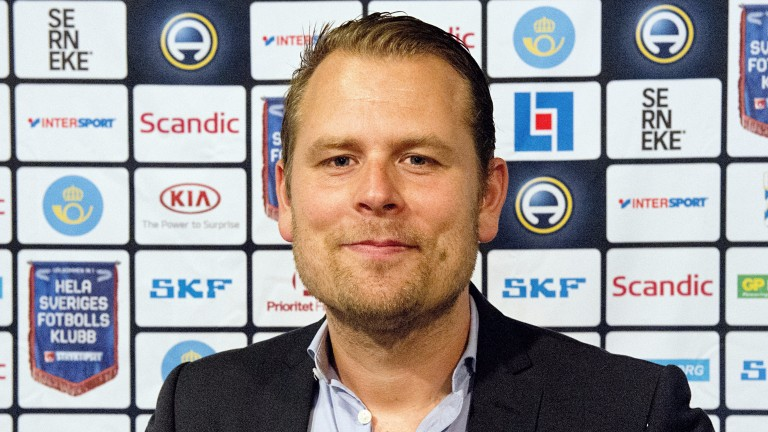 Hacken manager Mikael Stahre