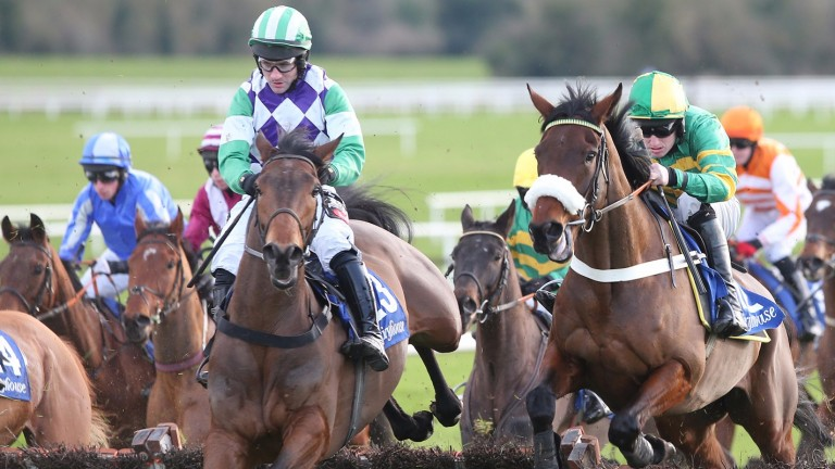 Eoin Doyle's Jefferson Davis (left): successful at Clonmel last time