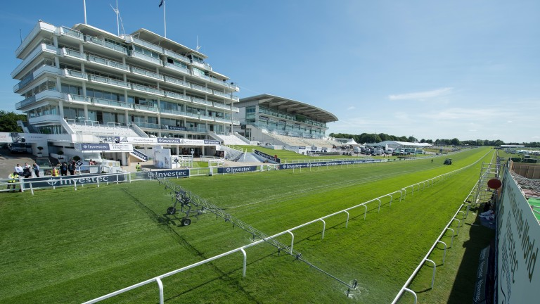 Will there be blue skies at Epsom on Friday?