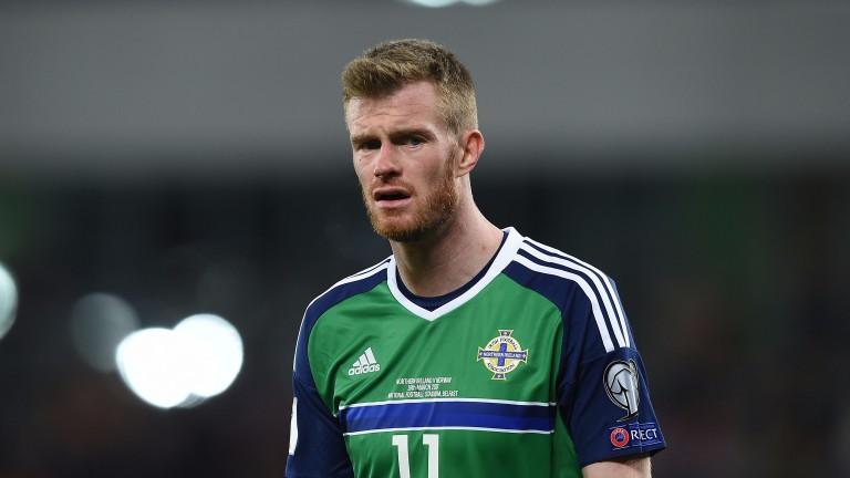 Chris Brunt of Northern Ireland