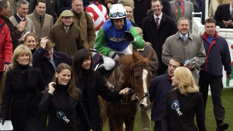 Well Chief and Timmy Murphy won the Connaught Chase in 2009