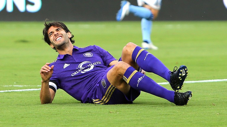 Orlando playmaker Kaka has been suffering from injuries