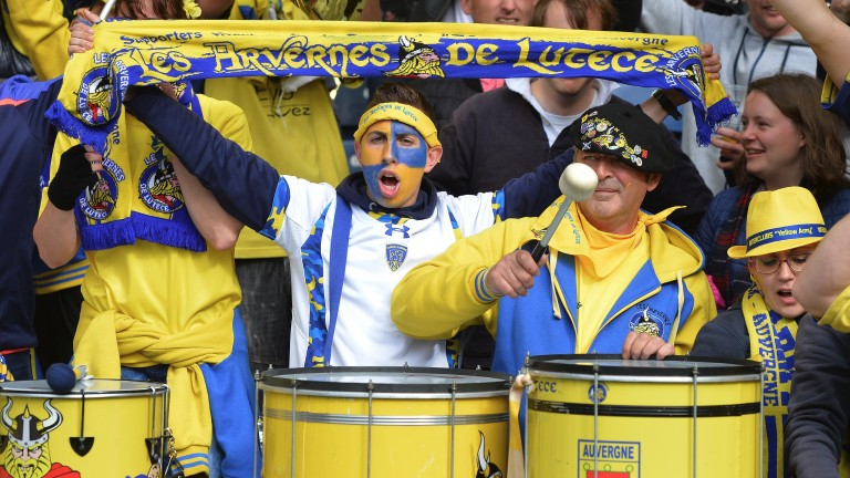 Clermont fans cheer on their team