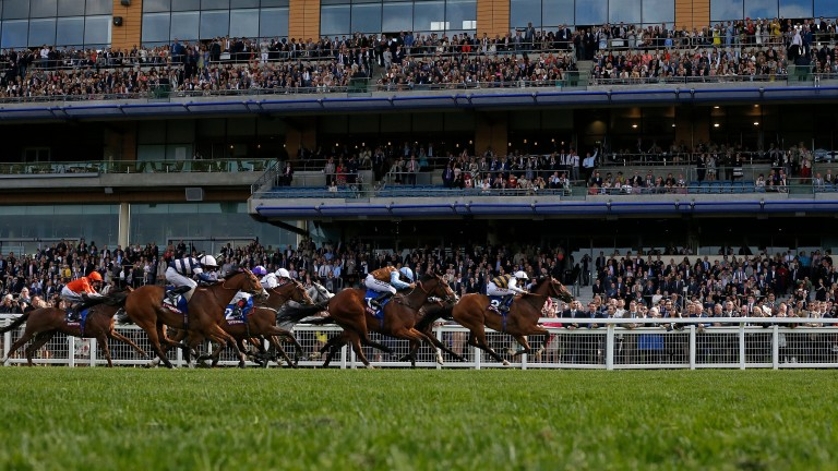 Josephine Gordon rides Fastnet Tempest to victory in the Victoria Cup at Ascot last month