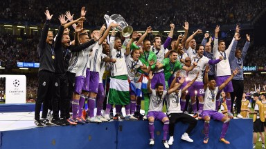 Real Madrid beat Juventus 4-1 in the Champions League final