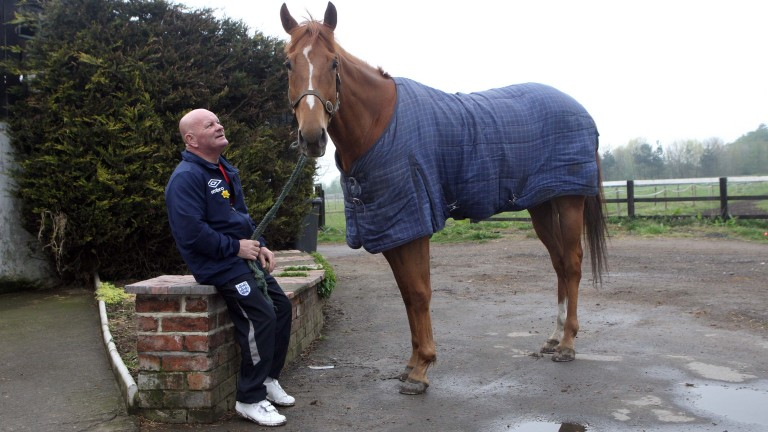 Dandy Nicholls and stable star Regal Parade