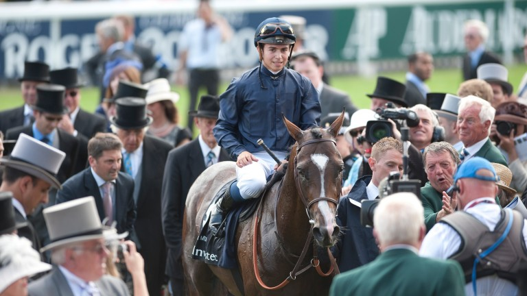 Pour Moi: the Floriens were at Epsom the year the son of Montjeu won the Derby