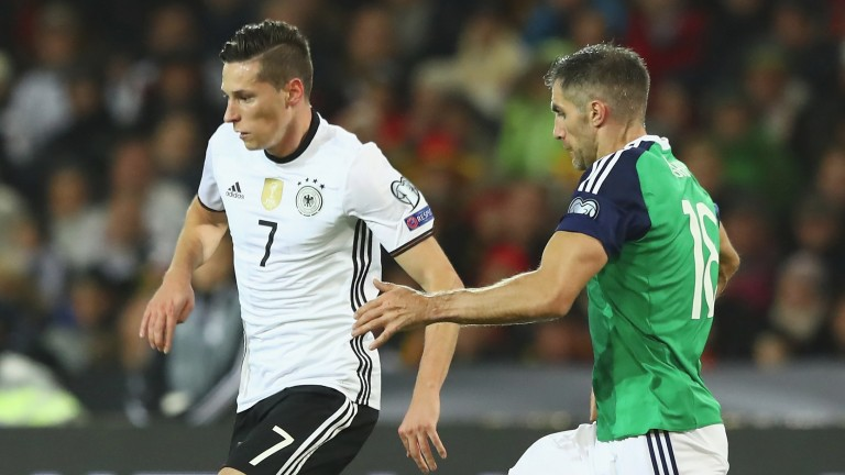 Julian Draxler (left) is just one of the star names in Germany's exciting young squad