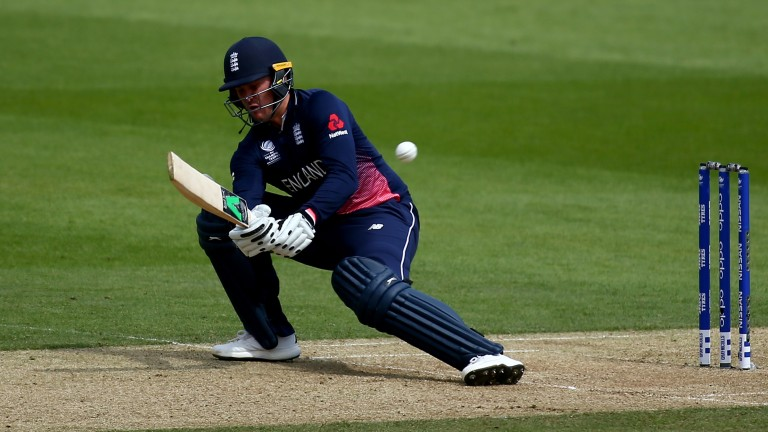 England opener Jason Roy was dismissed for one against Bangladesh