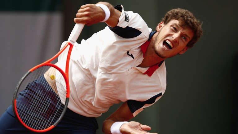 Pablo Carreno Busta may not be totally embarrassed by the king of clay