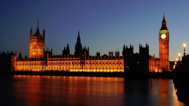 The clock is ticking at the Palace of Westminster