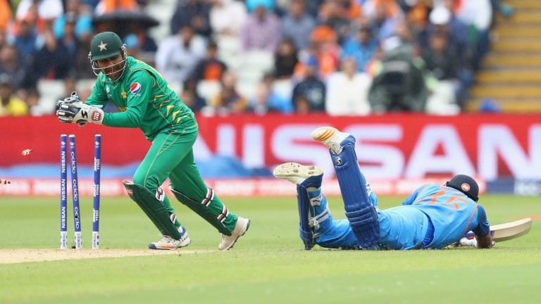 Rohit Sharma was run out for 91 against Pakistan but the India man looked in good form