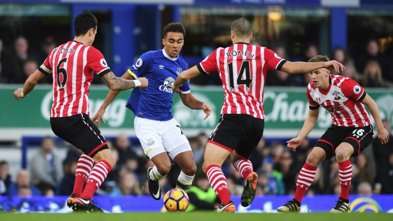 Everton's Dominic Calvert-Lewin could start for England