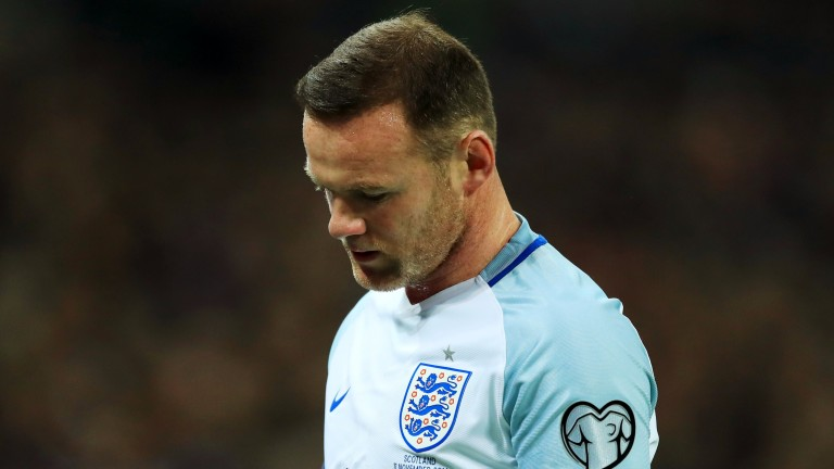 Wayne Rooney's days in an England shirt appear to be numbered