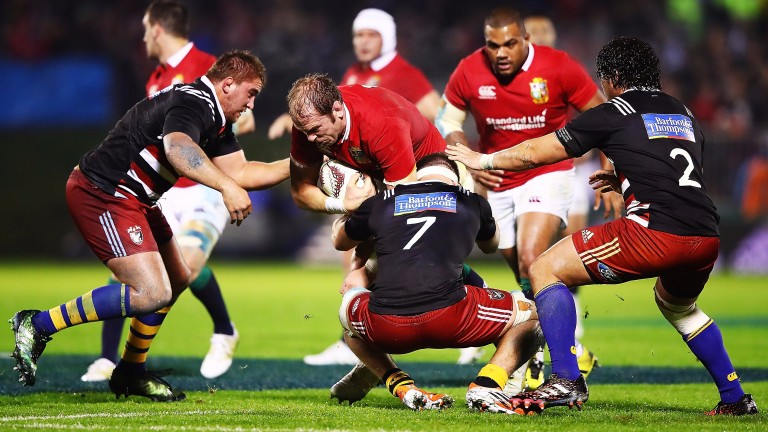 Alun-Wyn Jones will lead the Lions against the Crusaders
