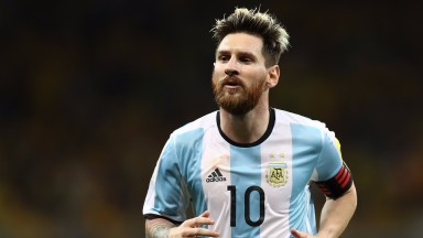 Argentina superstar Lionel Messi