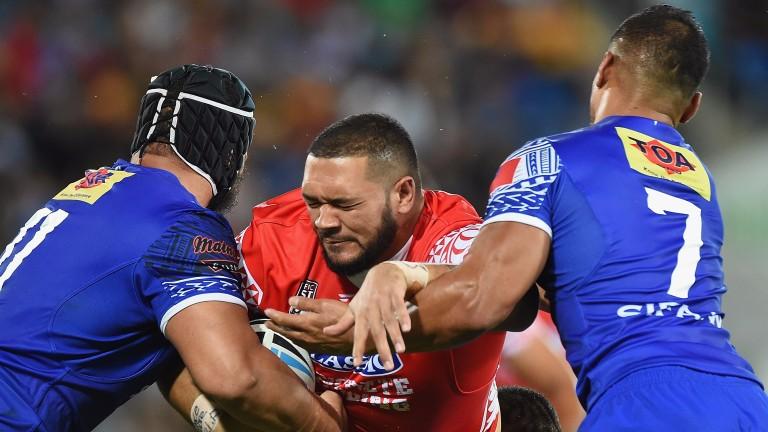 Salford's Tongan international forward Ben Murdoch-Masila