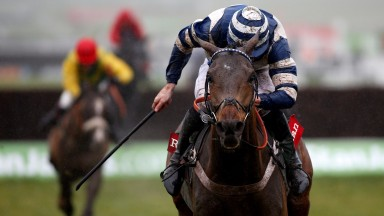 Davy Russell and Whisper en route to victory at Cheltenham in December