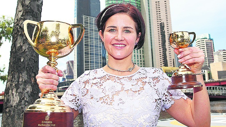 Michelle Payne: has been having trouble gaining access into Britain