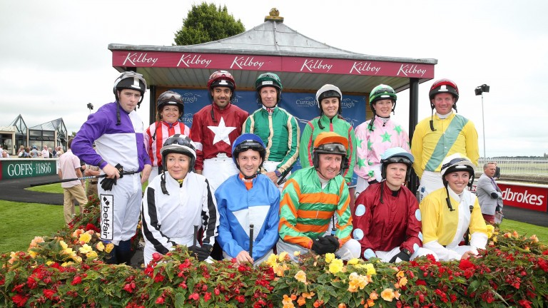 Last year's competitors in the Corinthian Challenge which raised over €120,000