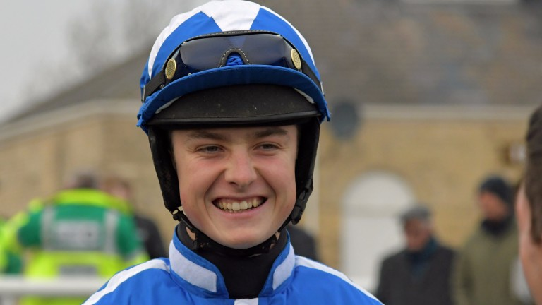 James King: crowned champion male amateur rider at Stratford on Friday evening