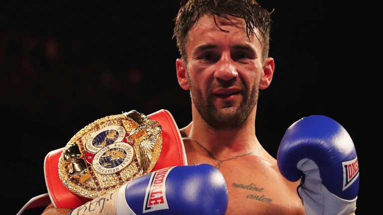 IBF bantamweight champion Lee Haskins