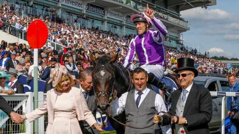 Padraig Beggy and Wings Of Eagles after their Derby triumph