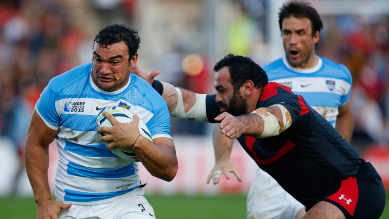 Argentina skipper Agustin Creevy is the fulcrum of Los Jaguares pack