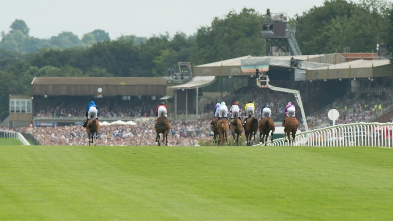 Newmarket is one of nine tracks racing in Britain and Ireland on Saturday