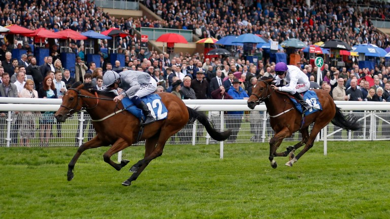 Main Desire and Danny Tudhope win the Marygate Fillies Stakes at York last month