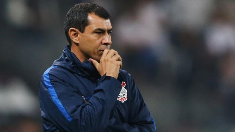 Corinthians head coach Fabio Carille