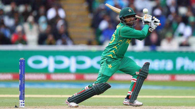 Pakistan's Babar Azam played well against South Africa