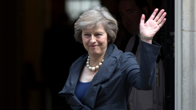 Theresa May: called a snap election, which delayed the announcement