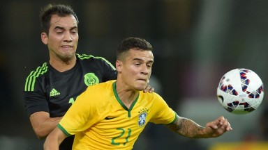 Liverpool's Philippe Coutinho is part of a strong Brazil side