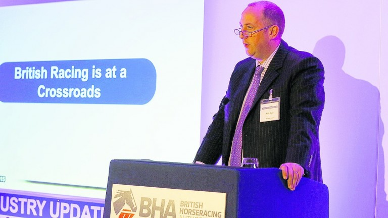 BHA chief executive Nick Rust said racing is set to approach betting operators this week