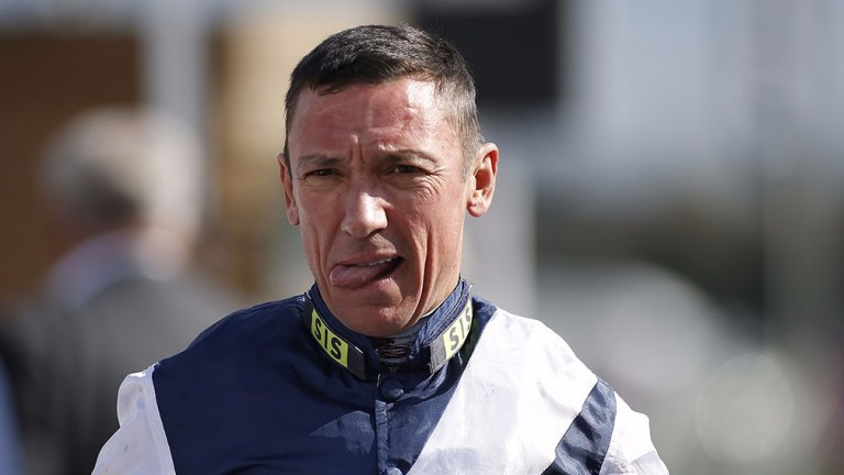 Frankie Dettori: misses all five days of Royal Ascot due to an arm injury