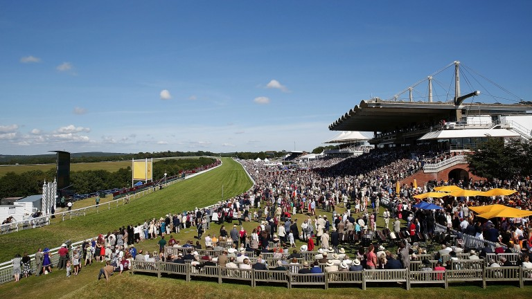 Conditions were glorious at Goodwood on Saturday, but events late in the day spoiled it for many