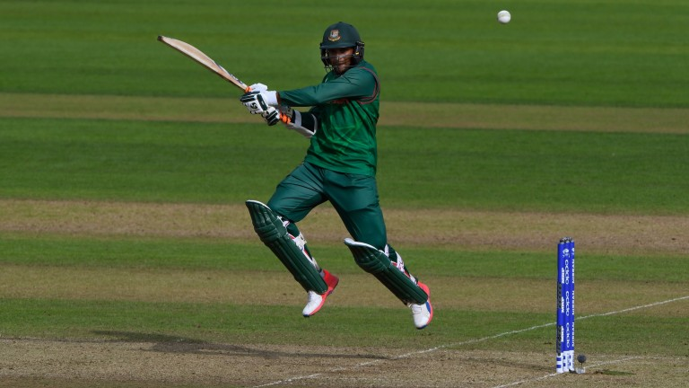 Shakib Al Hasan could carry the Bangladesh fight