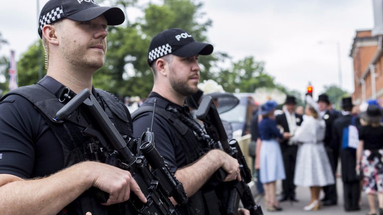 The presence of armed police has become more common on racecourses recently and the trend is set to continue at Ascot this week